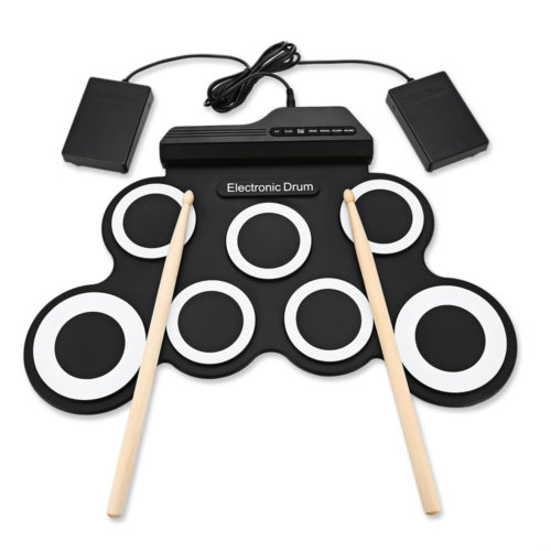 Portable Digital Silicon Drum Pads