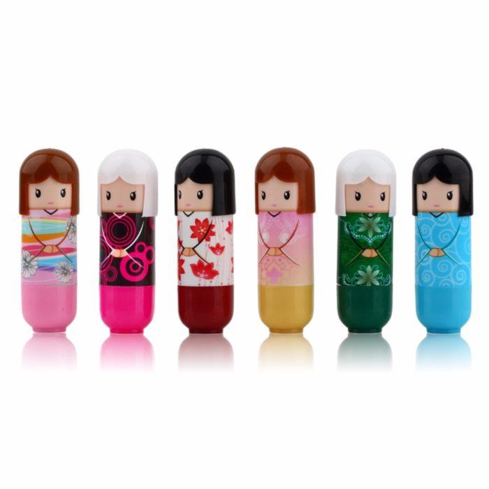 Cute Japanese Doll Moisturizing Lip Balm
