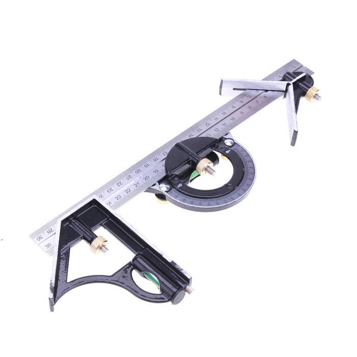 3-In-1 Multi Combination Adjustable Ruler