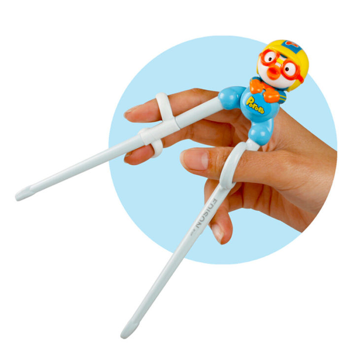 Pororo Kids Practice Chopsticks