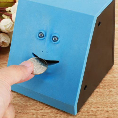 Money-Eating Face Piggy Bank
