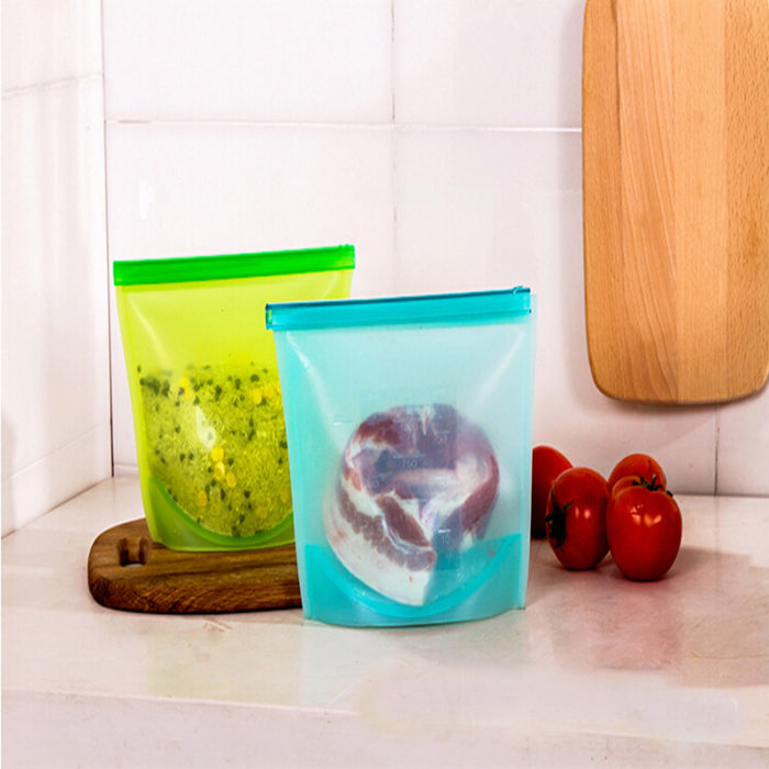 Reusable Silicon Snack Bag