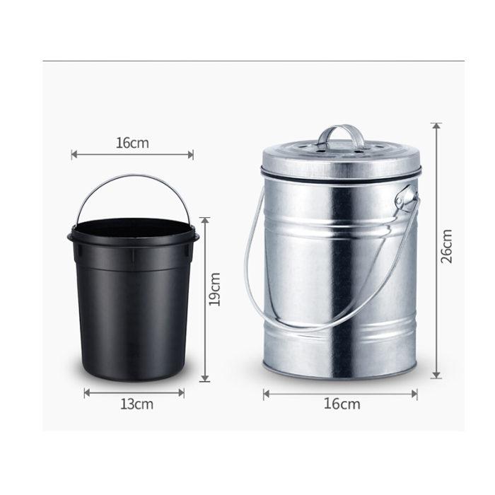 3-Liter Kitchen Compost Bin