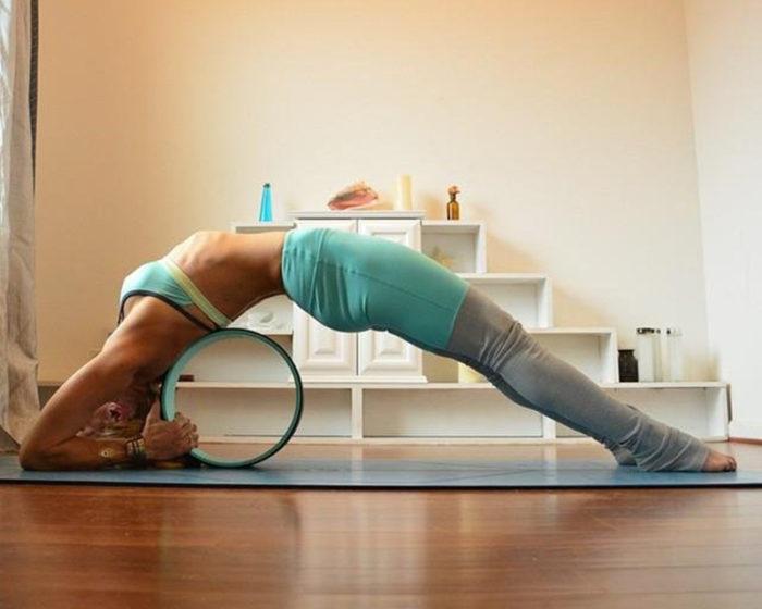 Pilates and Yoga Fitness Wheel