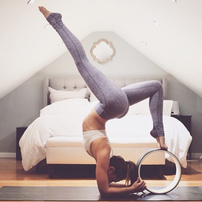 Pilates and Yoga Fitness Wheel