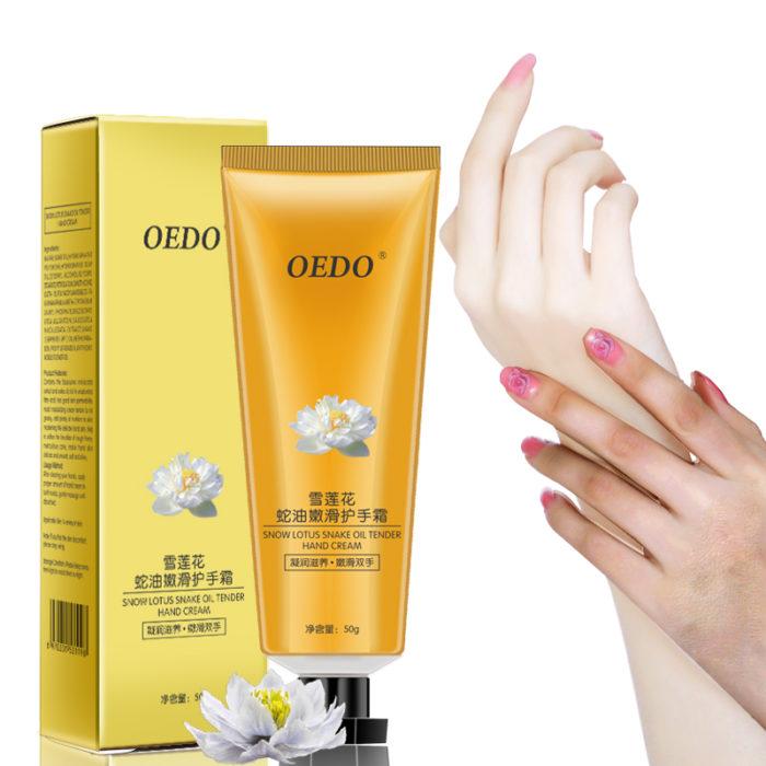 Snow Lotus Snake Oil Tender Hand Cream