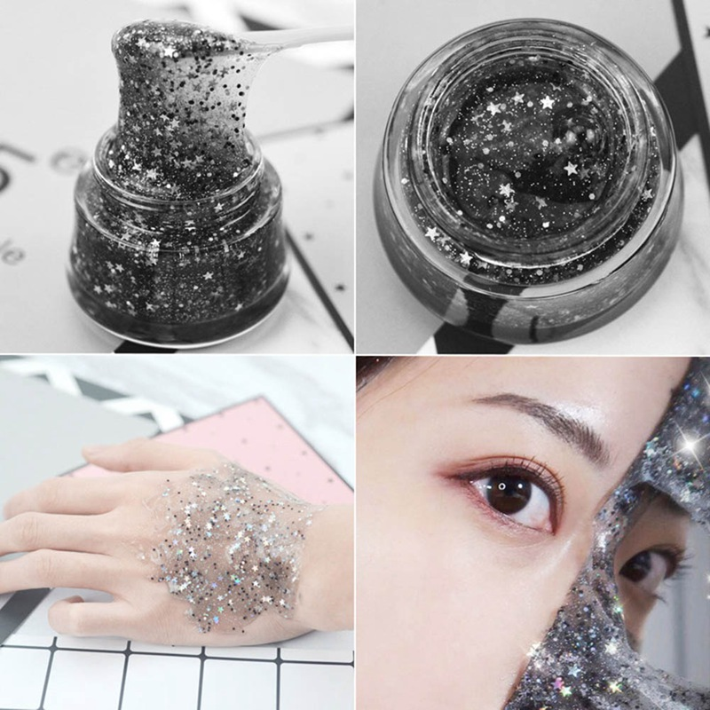 Black Star Glitter Peel Off Face Mask Life Changing Products
