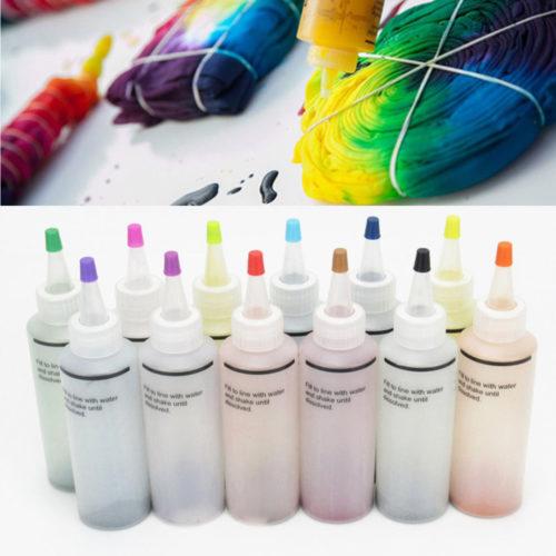 12-Bottle One-Step Tie Dye Kit