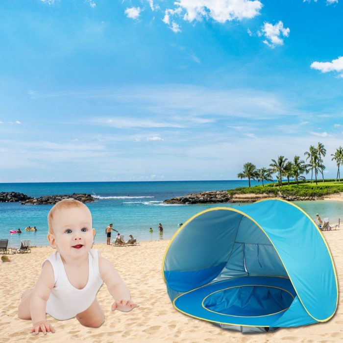 Portable Pop-Up Baby Beach Tent