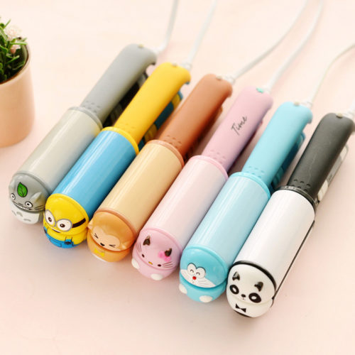 Cute Cartoon Mini Hair Straightener