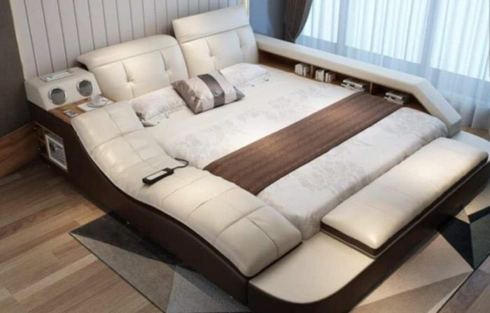 Genuine Leather Ultimate Bed