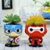The Avengers Bonsai Pots