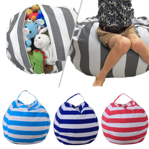 Stuffed Animal Storage Bean Bag