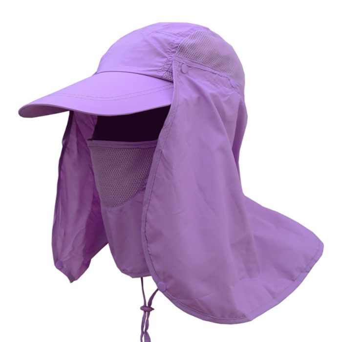 Sun-Protecting Fishing Cap