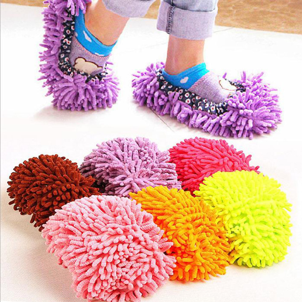 Dust Mop Slippers Life Changing Products