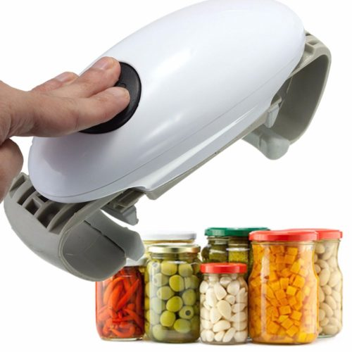One Touch Electric Jar Opener