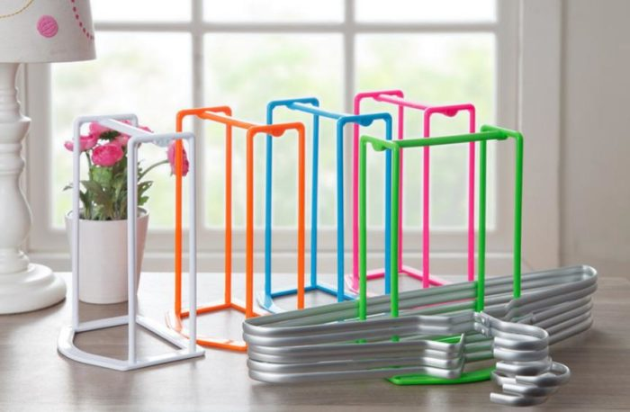 Clothes Hanger Organizer Rack