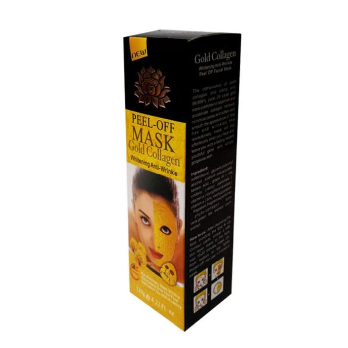 24K Gold Collagen Peel-Off Face Mask