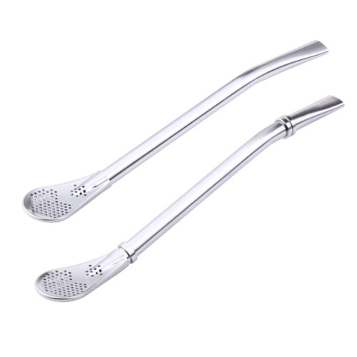 Stainless Steel Spoon Straw