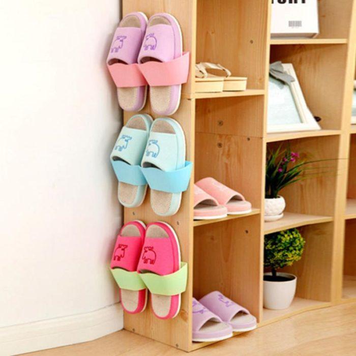 Self-Adhesive Wall Shoe Rack