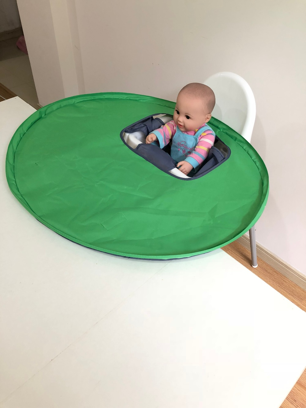 defaf309c Feeding Chair Cover Baby Foldable Saucer - Life Changing Products