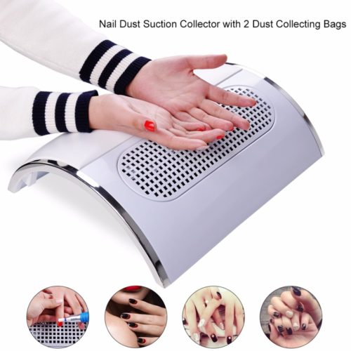 Nail Dust Collector Vacuum Machine