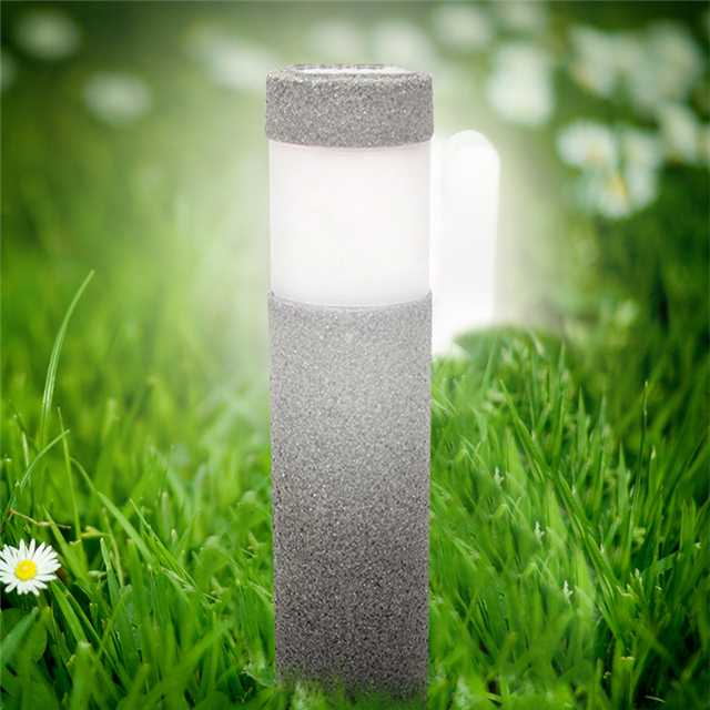 Pillar Garden Light Solar Powered