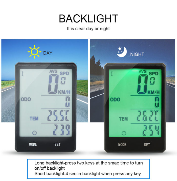Bicycle Speedometer Wireless Odometer Device