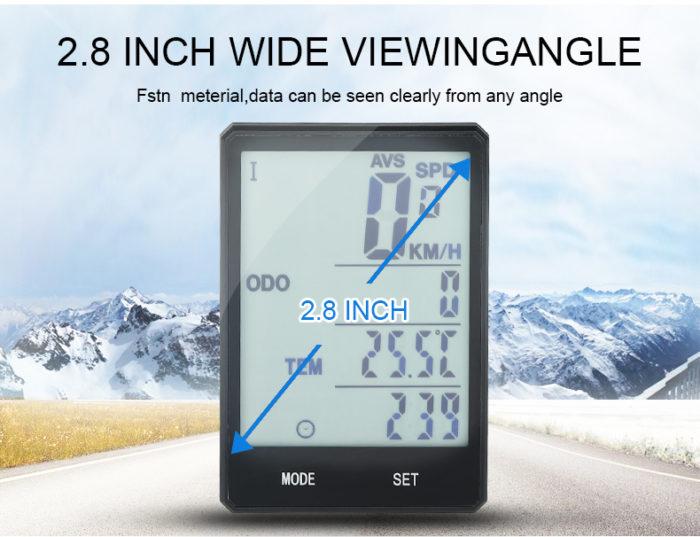 Bicycle Speedometer Wireless Odometer Device