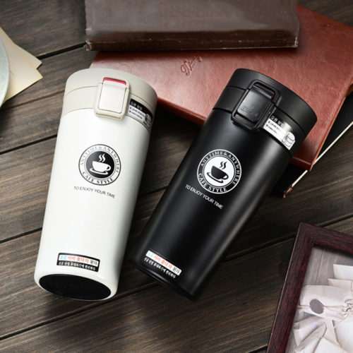 Stainless Steel Coffee Thermos Tumbler Cup
