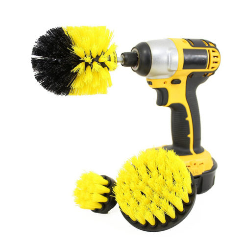 Drill Brush Scrubber Cleaning Kit (Set of 3)
