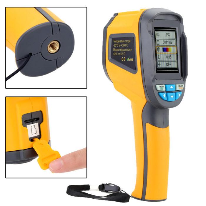 Handheld Thermal Imaging Camera Device