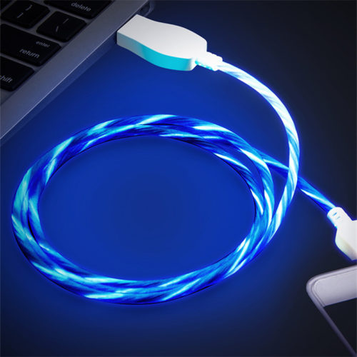 1m Phone USB Charger Luminous Cable