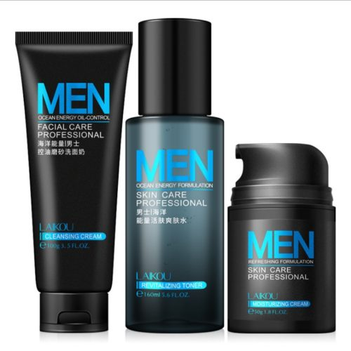 Energizing Skin Care Set for Men
