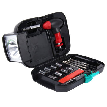 Portable Mixed Tool Kit Set