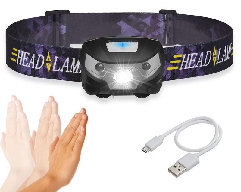 Headlamp Mini Rechargeable LED Light