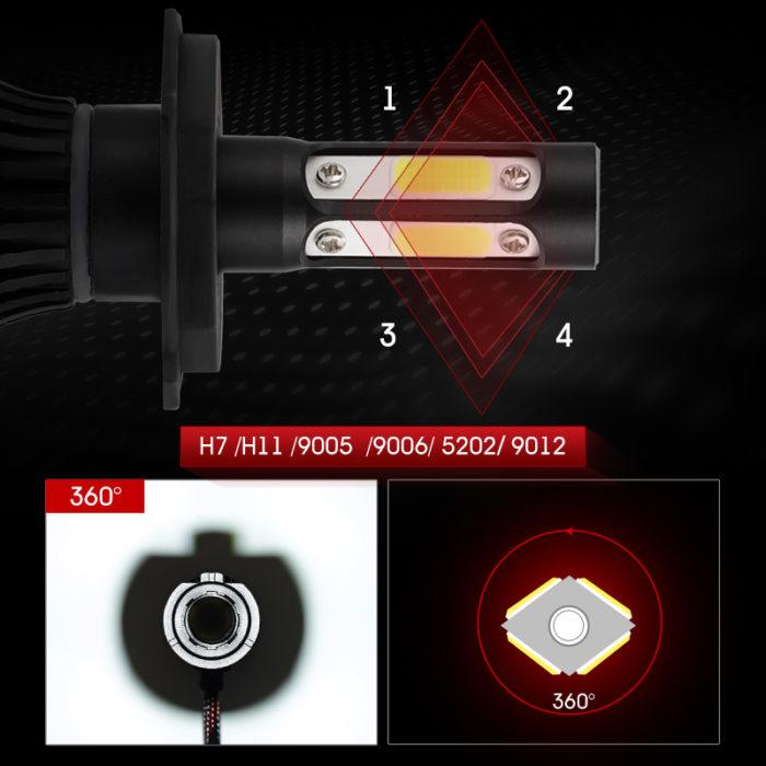 Car Headlights LED Fog Light