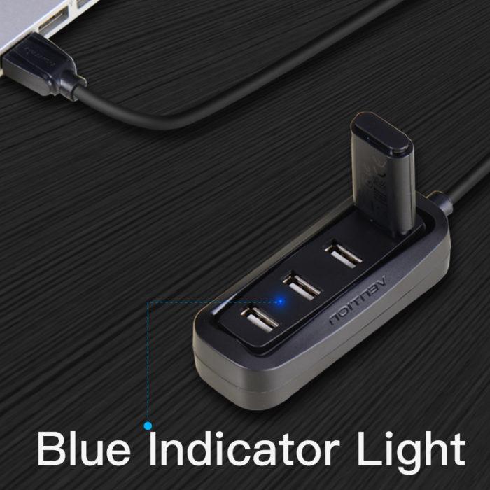 4-port USB Splitter Cable Hub