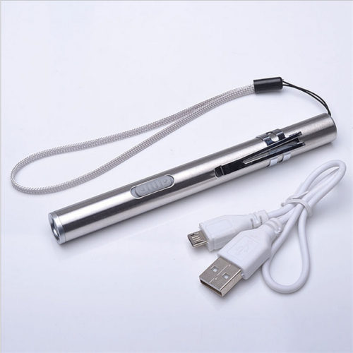 LED Penlight USB Rechargeable Flashlight