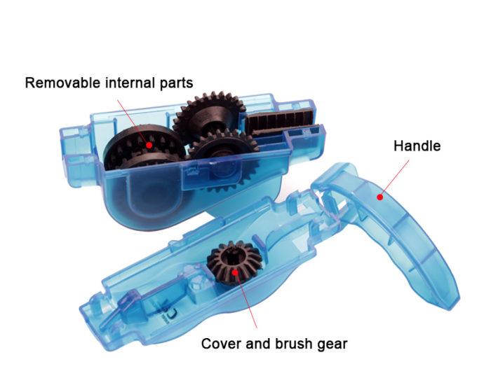 Bike Chain Cleaner Degreaser Tool