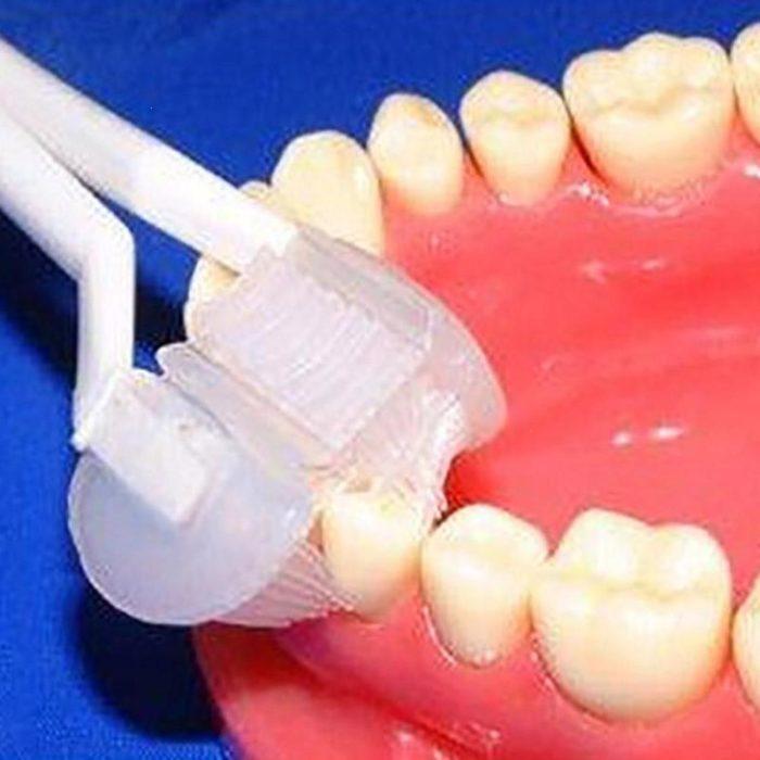 3-sided Toddler Kids Toothbrush Soft Bristles
