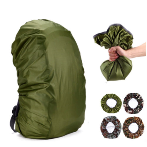 35L Waterproof Backpack Rain Cover - GREEN, Other