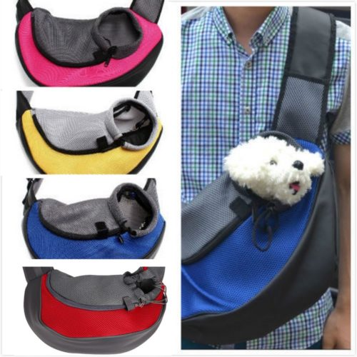 Small Pet Carrier Sling Bag Cage