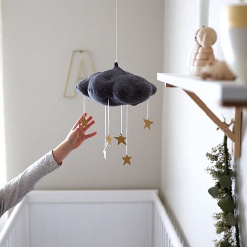 Baby Crib Mobile Hanging Musical Toy