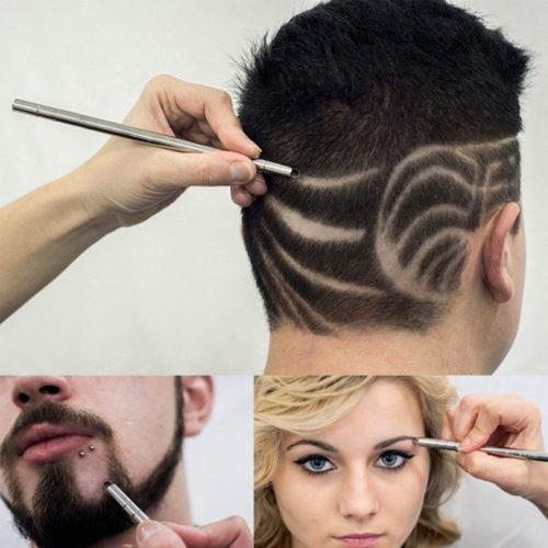 Pen Razor Hair Carving Steel Blade
