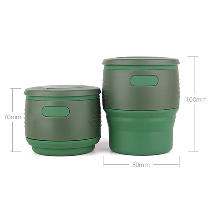Silicone Collapsible Cup Folding Tumbler