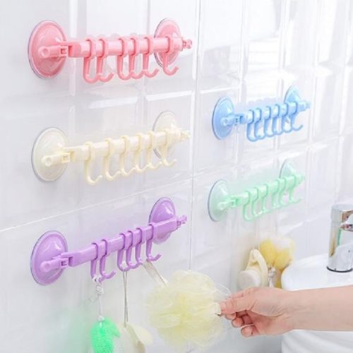 Plastic Wall Hook Rack Suction Grip
