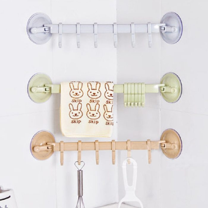 Plastic Wall Hook Rack Suction Grip