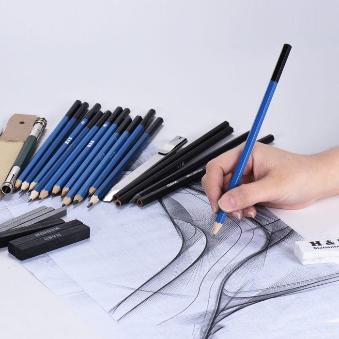 32pcs Drawing Kit Sketch Tool Set