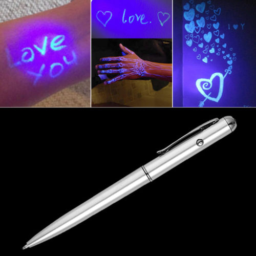 Invisible Pen Secret Glow in the Dark Ink